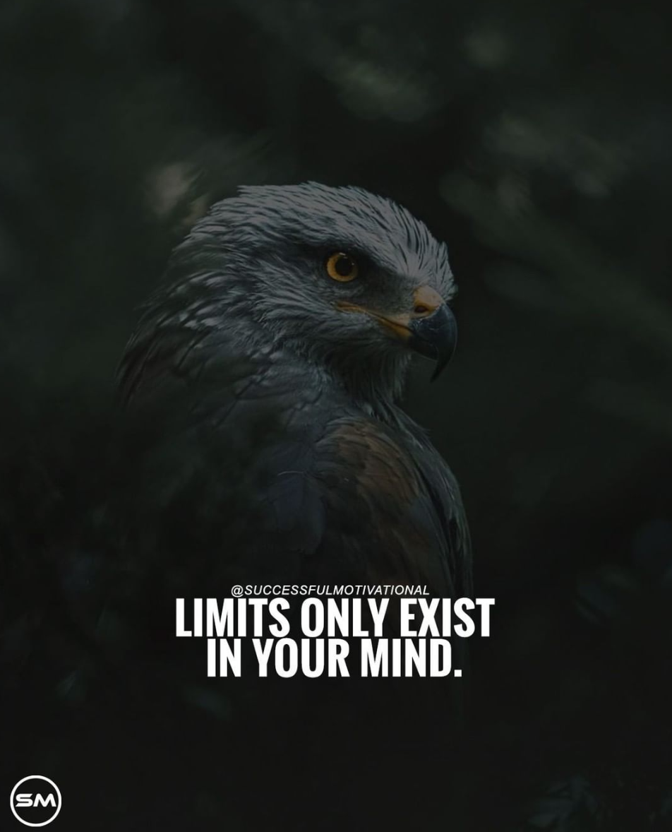 [Image] Don't let the society decide the limits of your goals for you