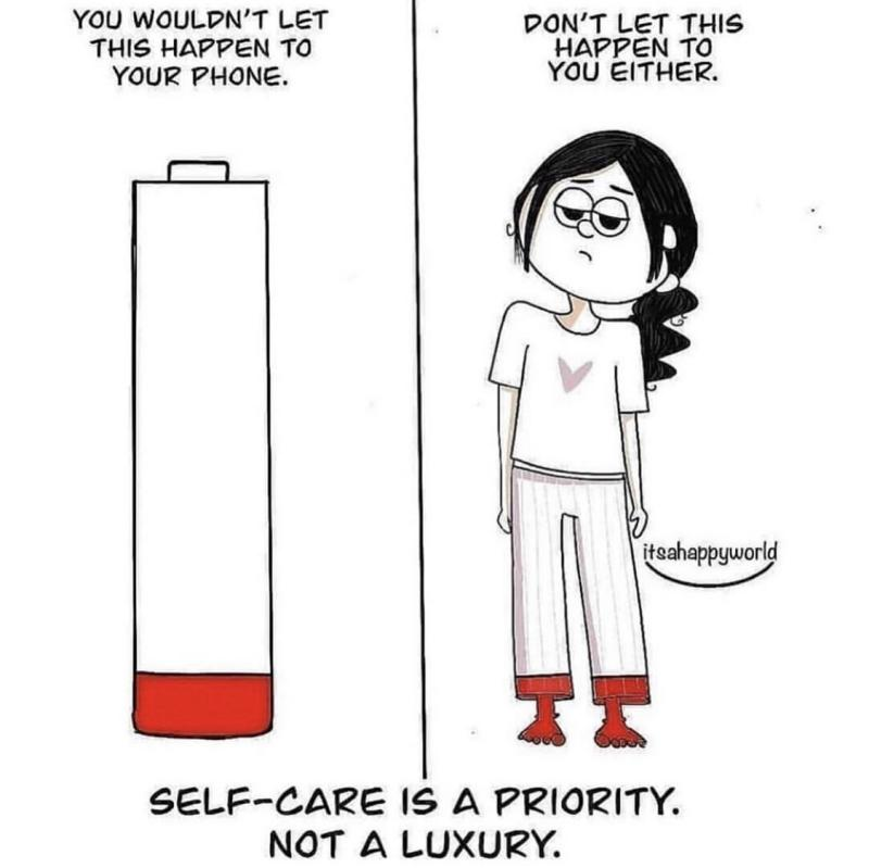 [Image] You are your most precious asset, you must take care of yourself accordingly