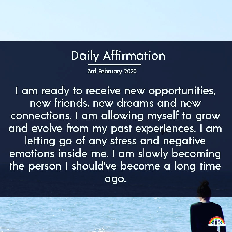 [Image] Daily Affirmation – 3rd February 2020