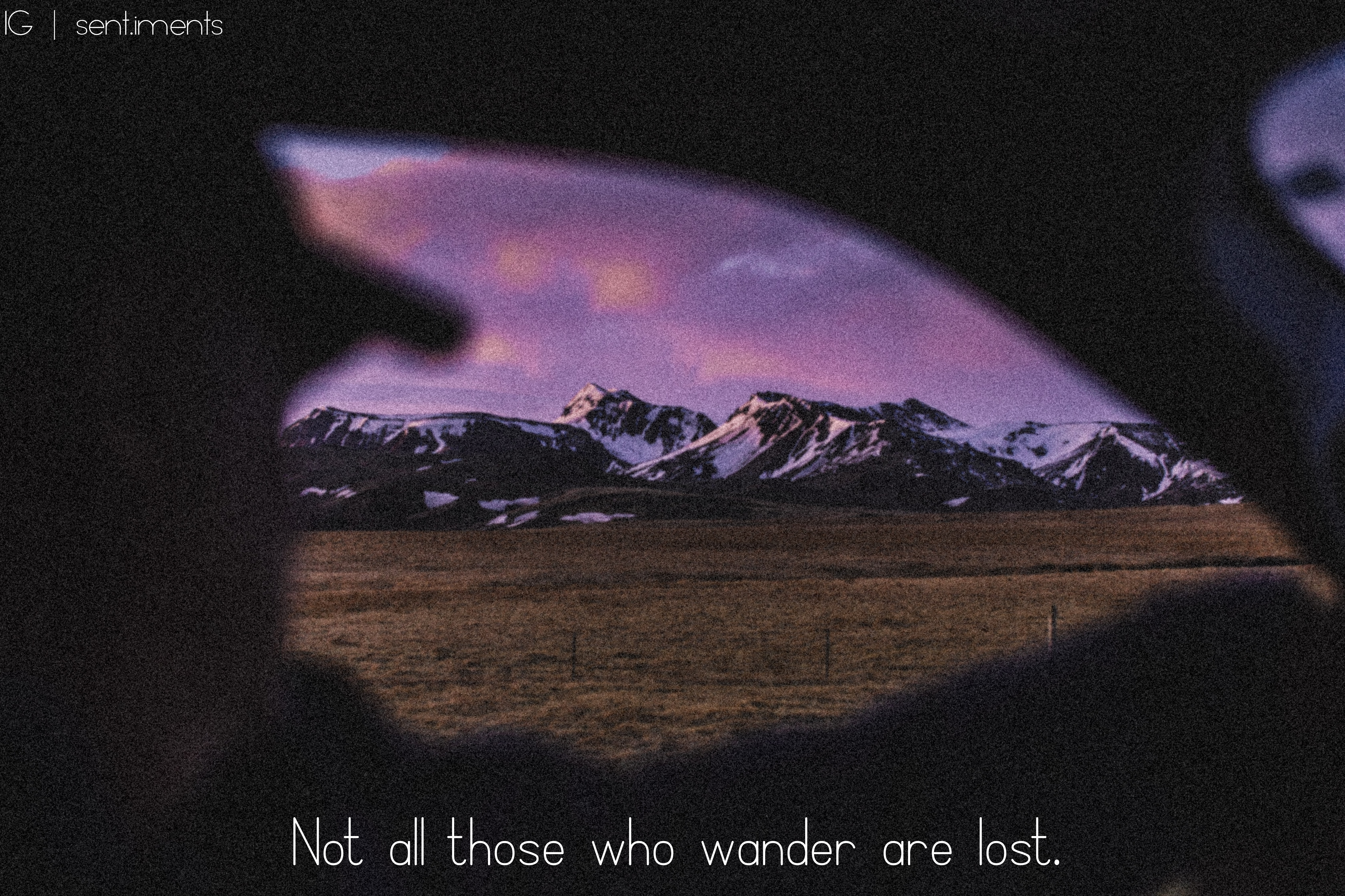 """Not all those who wander are lost"" by J.R.R Tolkien [6720 X 4480]"