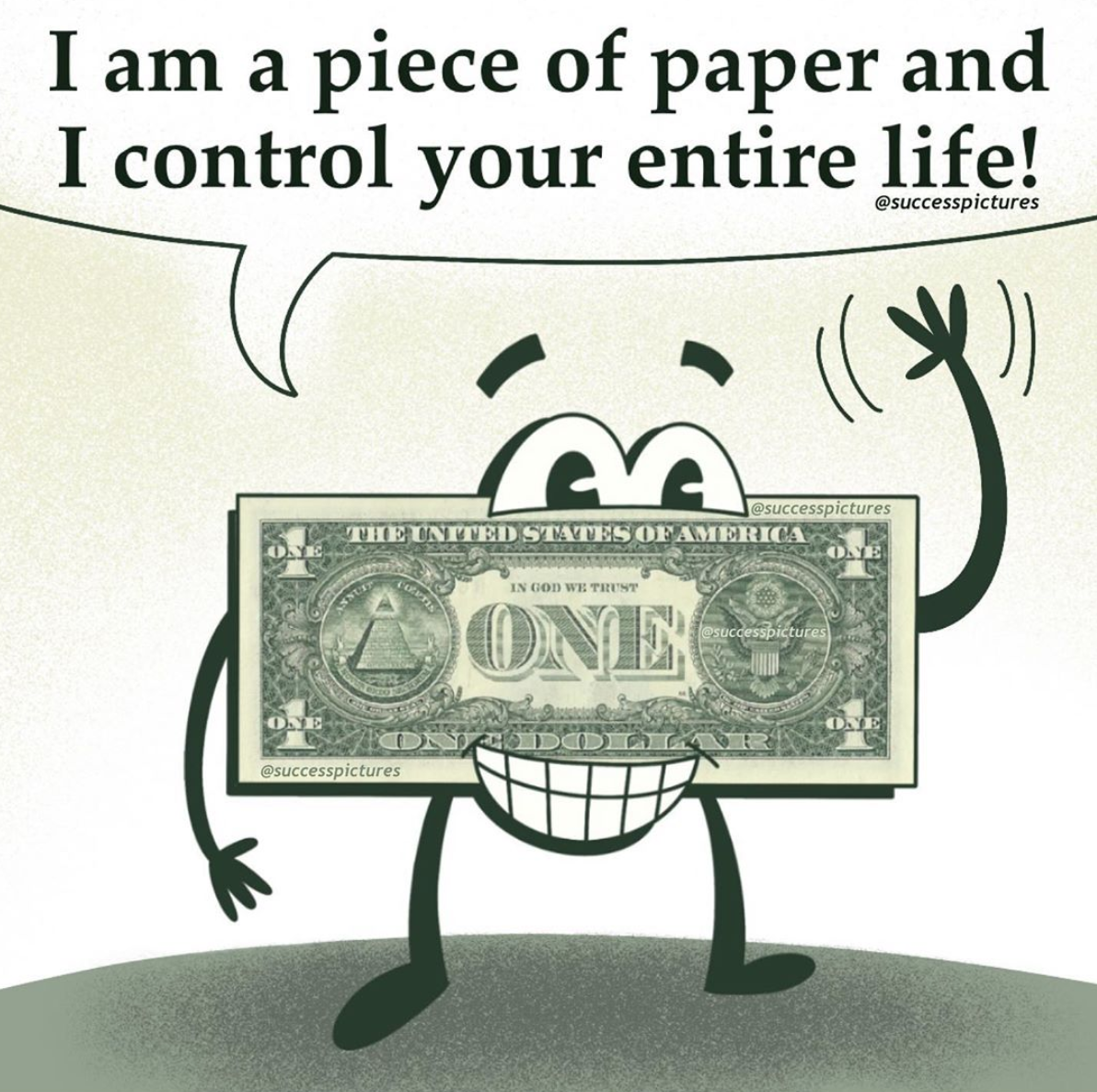 [Image] Don't let a simple piece of paper control your life
