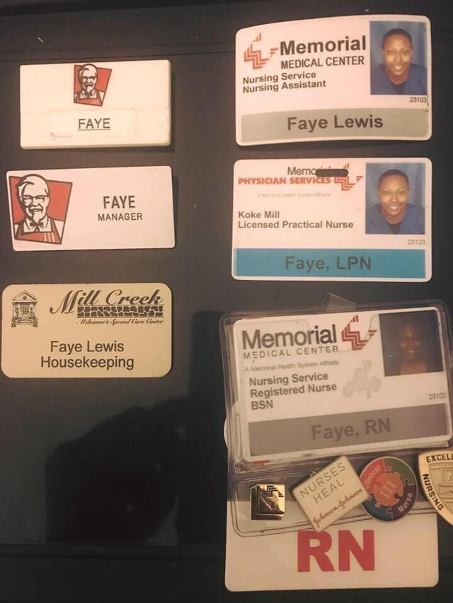 Going from working at KFC to becoming an RN,very inspiring [Image]