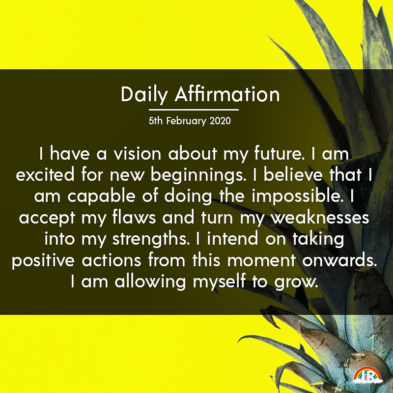[Image] Daily Affirmation – 5th February 2020