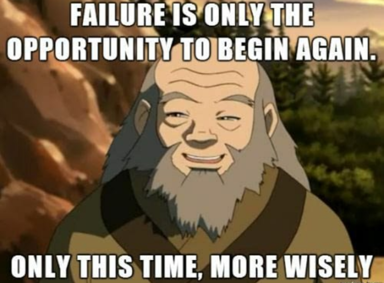 [Image] Iroh on failure