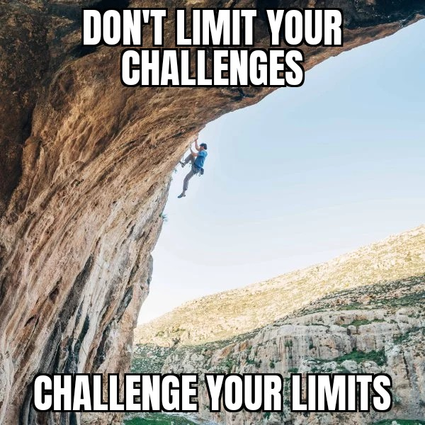 Challenge your limits! [IMAGE]