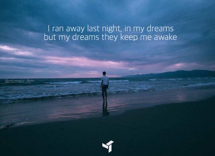 """I ran away last night, in my dreams but my dreams they keeping me awake"" -EDEN [1000×2000]"