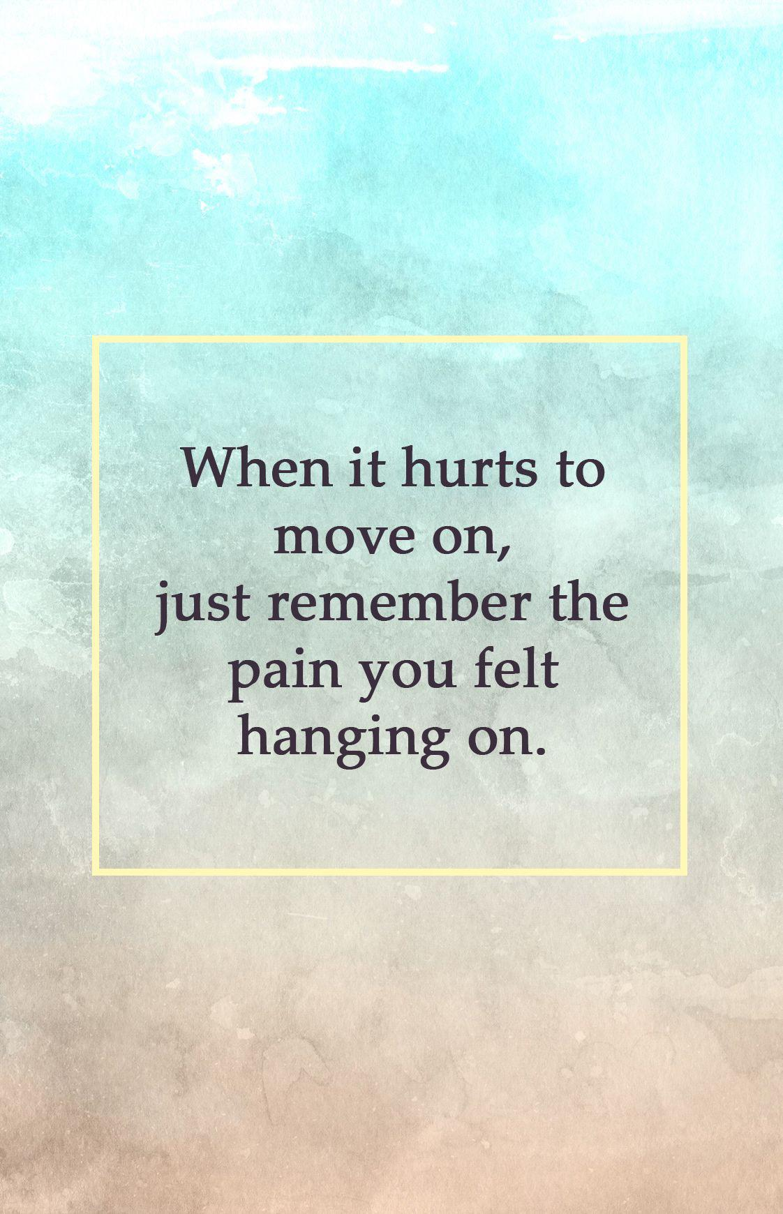 [IMAGE] «When It Hurts to Move On»