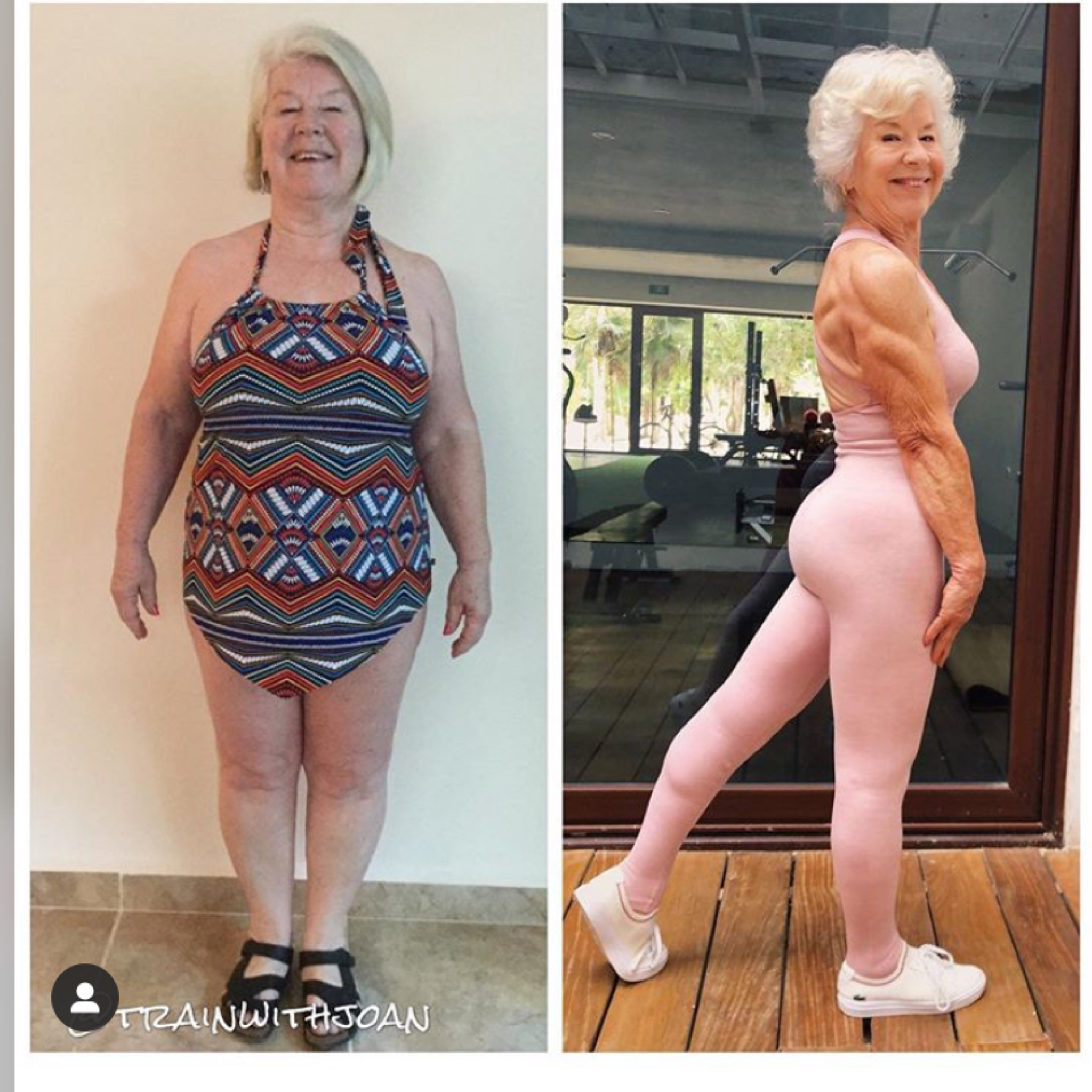 [image] This Grandma decided to get in shape