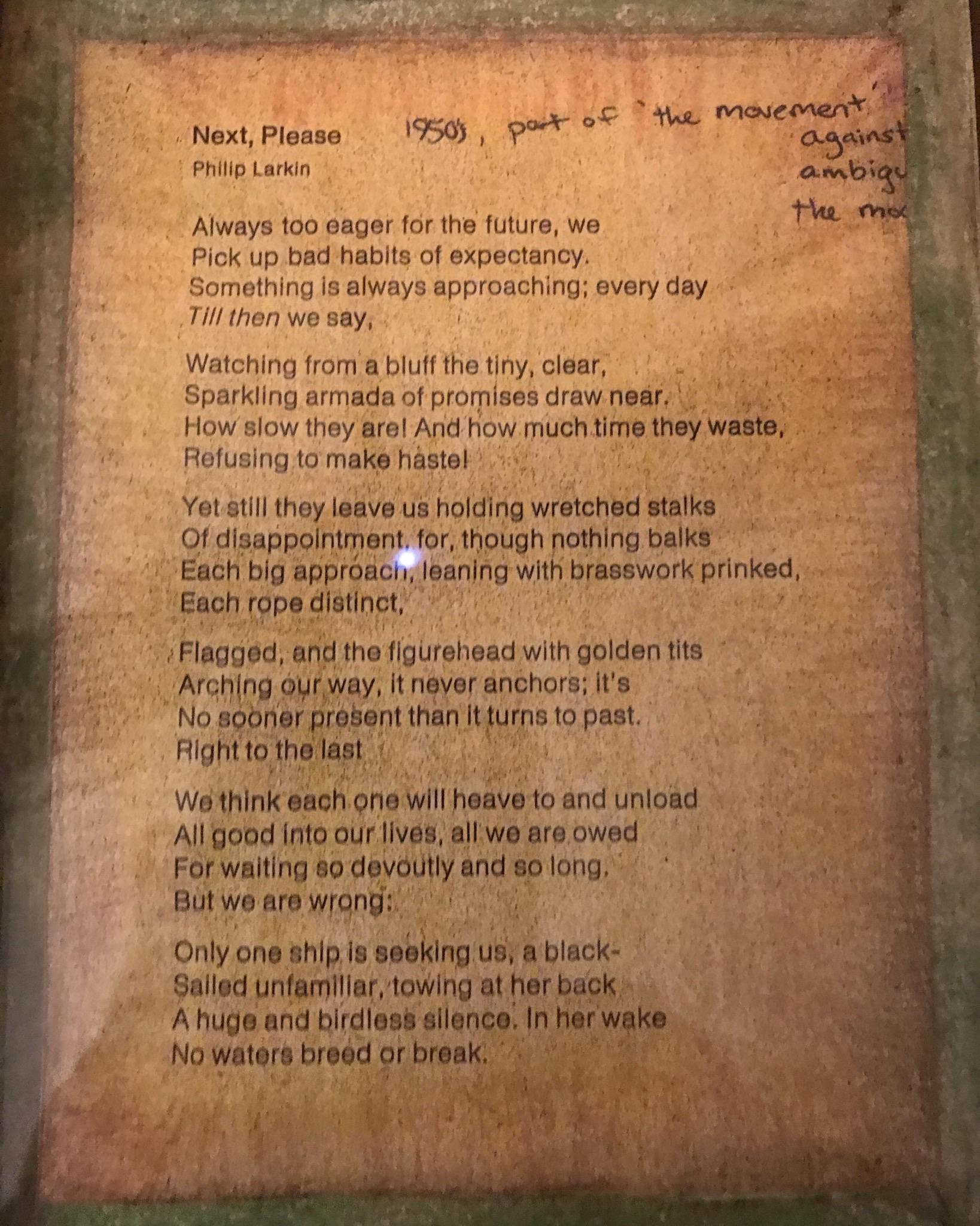 [Image] This poem was part of a class handout years ago and I found it so motivating that I colored and framed it. Still motivates me to this day.