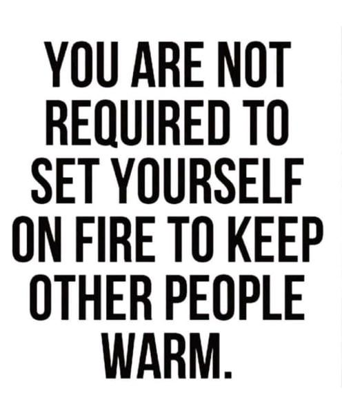 [image] Take care of yourself first.
