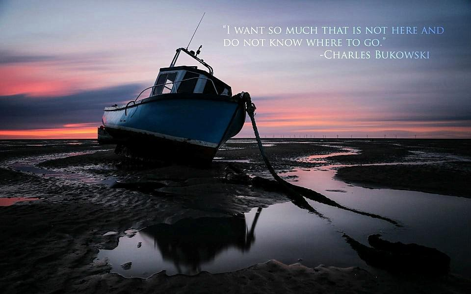 I want so much that is not here… Charles Bukowski (960×600)
