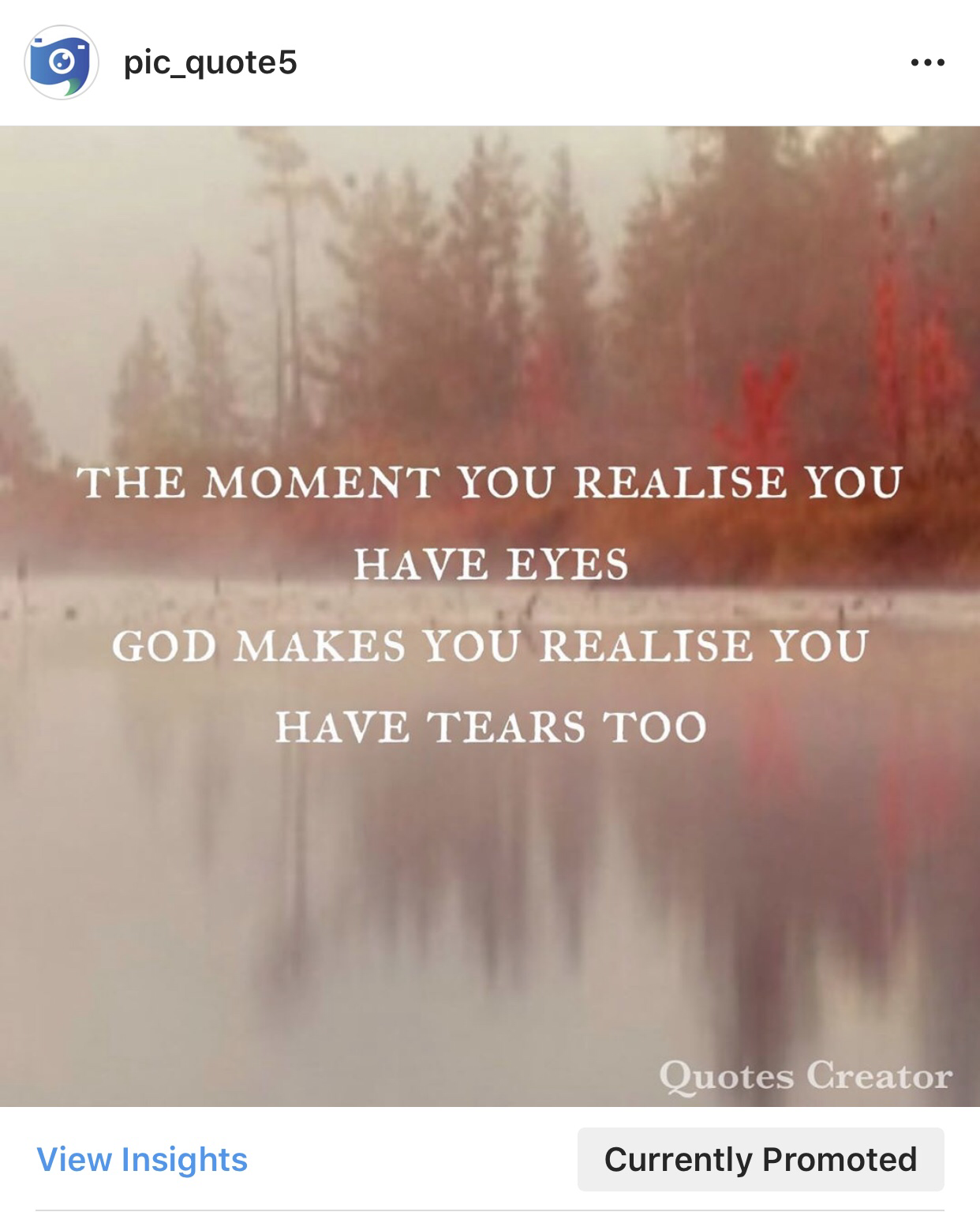 The moment you realise you have eyes-pic quotes 1080*1080