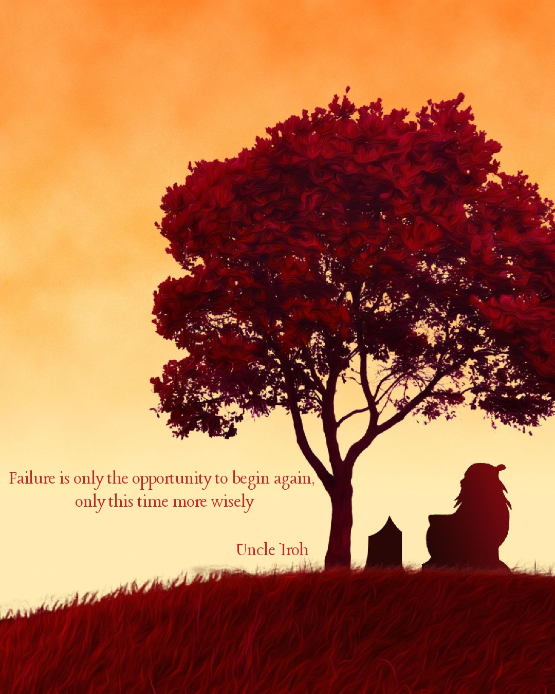 [Image] There is no failure in trying