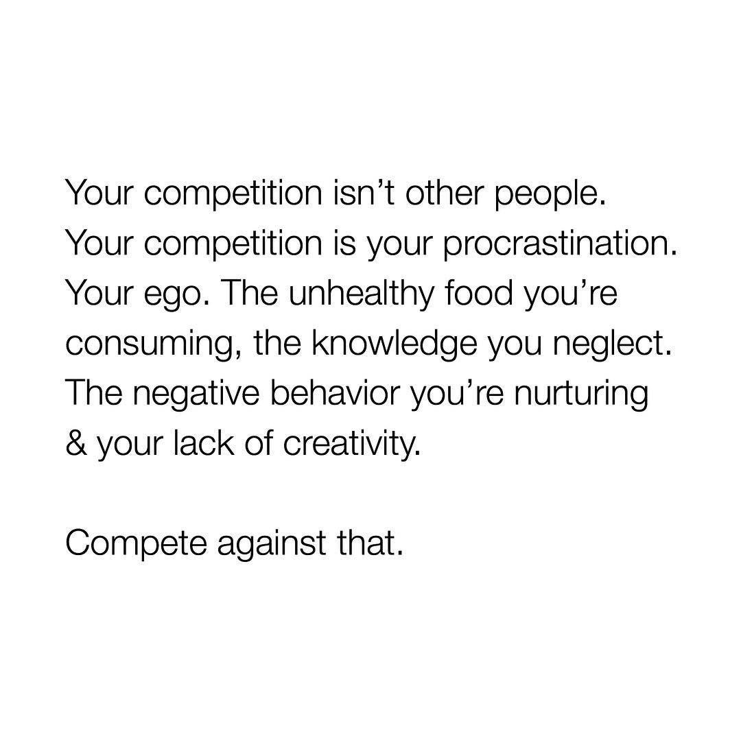 [IMAGE] «Compete Against That»