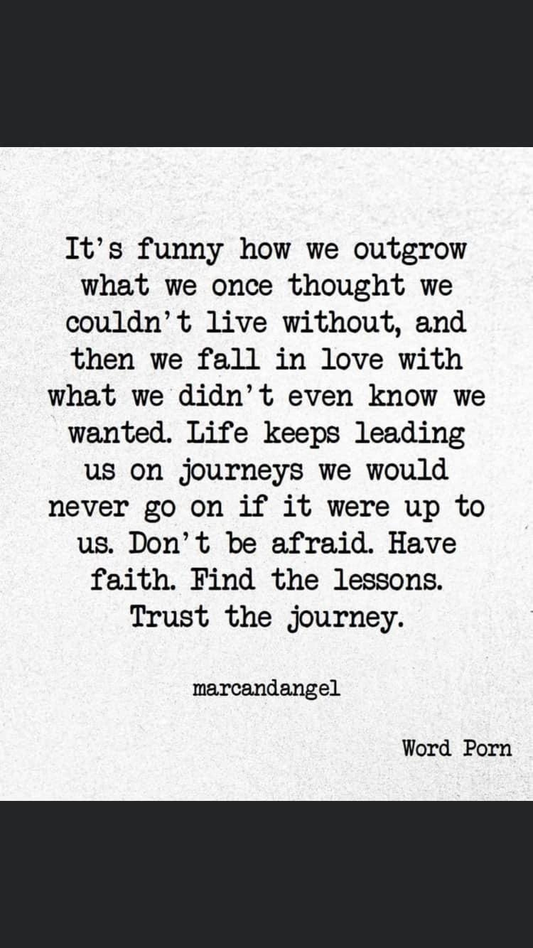 [image] Trust your journey