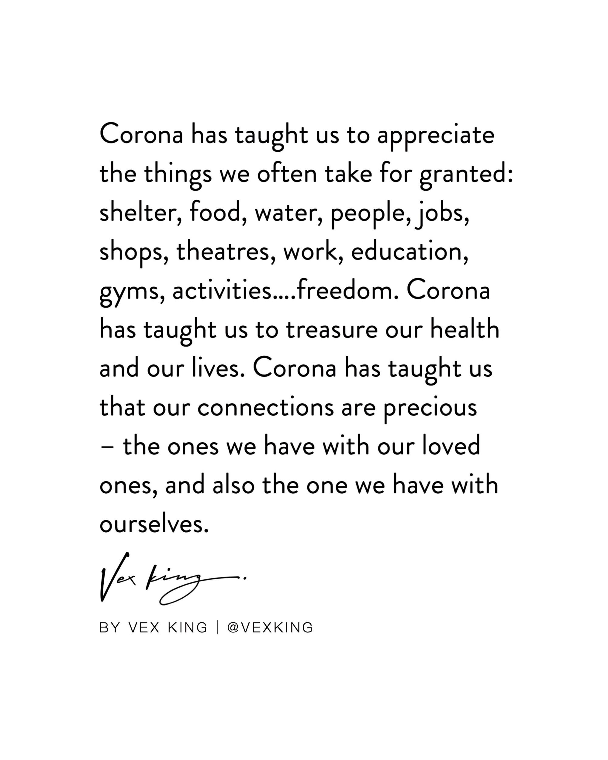 [Image] corona with some positivity