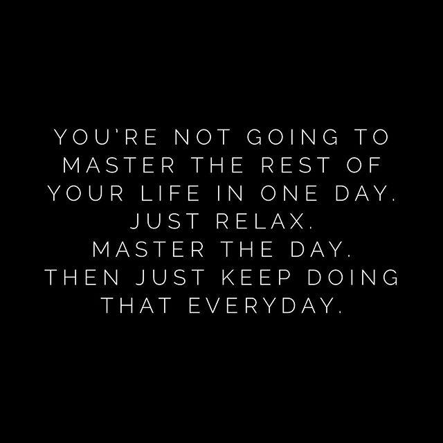 [IMAGE] «Master the Day»