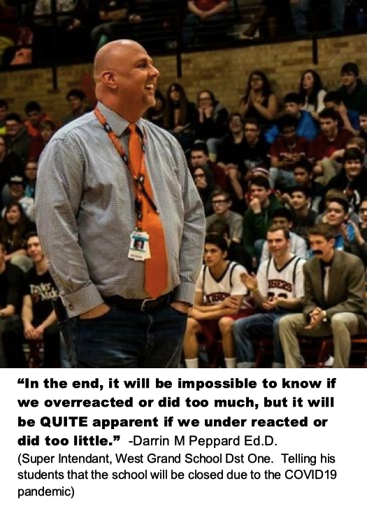 """In the end, it will be impossible to know if we overreacted…"" -Darrin M Peppard [525 × 740]"