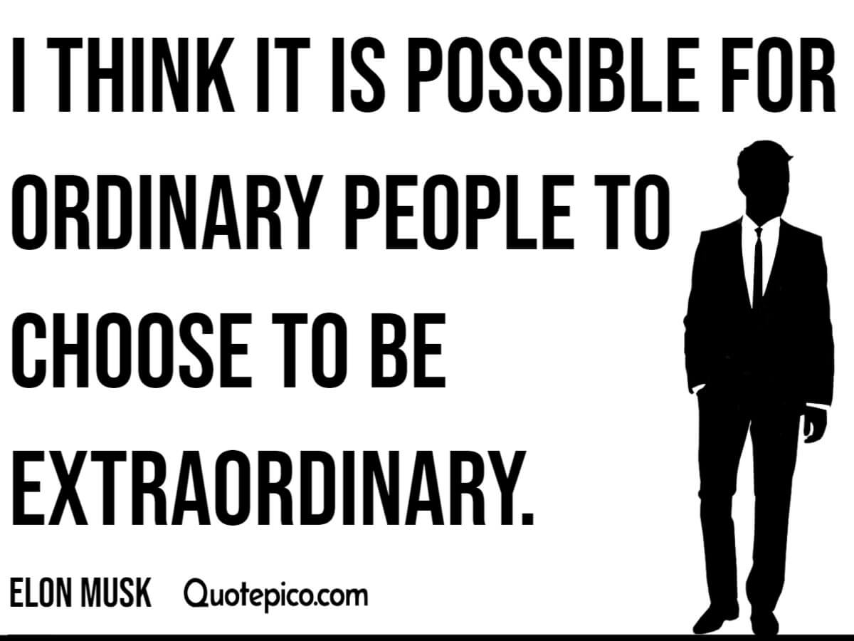 [Image] Elon Musk- I think it's possible for ordinary people to…