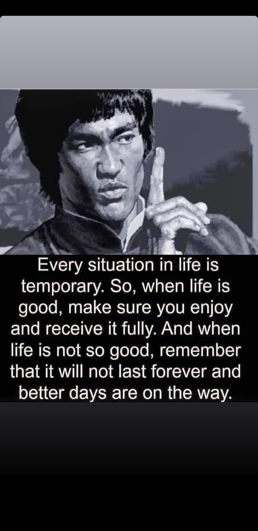 [image] Evry situation in life is temporary
