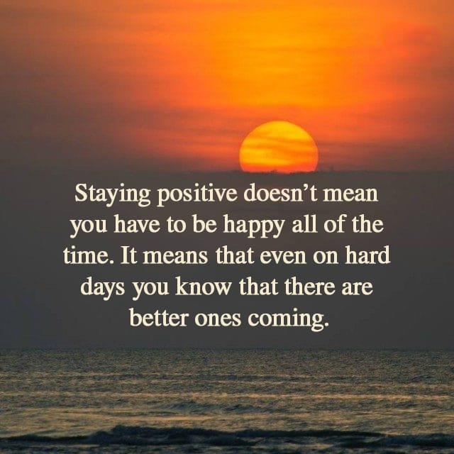 [IMAGE] «Staying Positive»