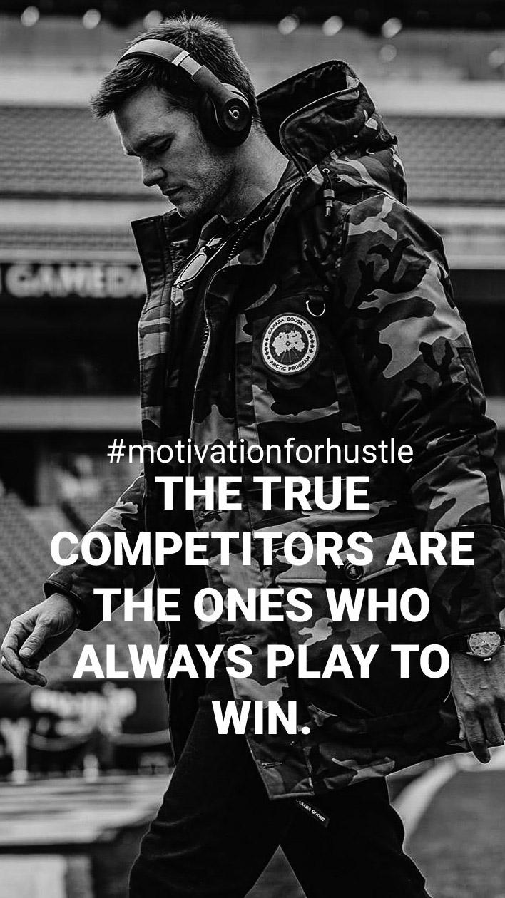 The true competitors are the ones who always play to win. 736×1308