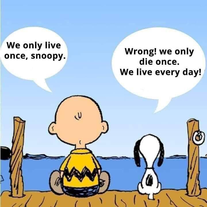 [Image] Listen to Snoopy