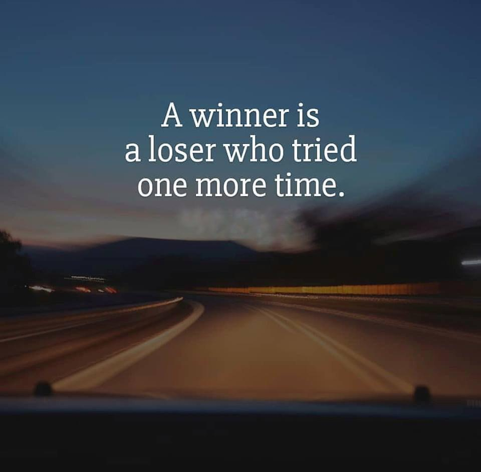 [Image] Get up and win