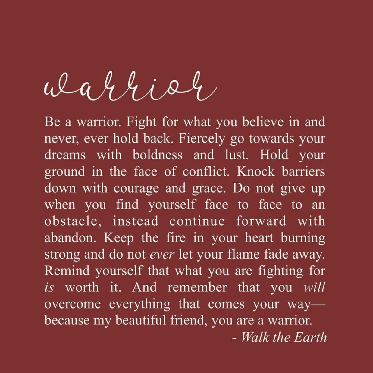 [Image] Warrior.