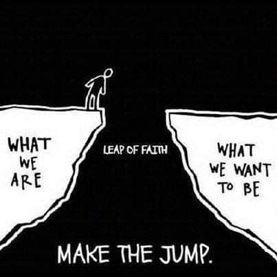 [Image] Take the jump.