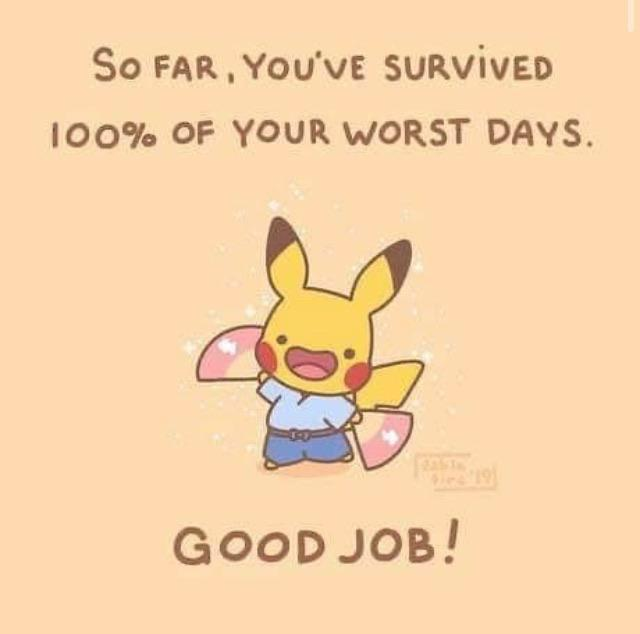 [Image] We're barely 3 months into 2020! Don't give up, keep on going!