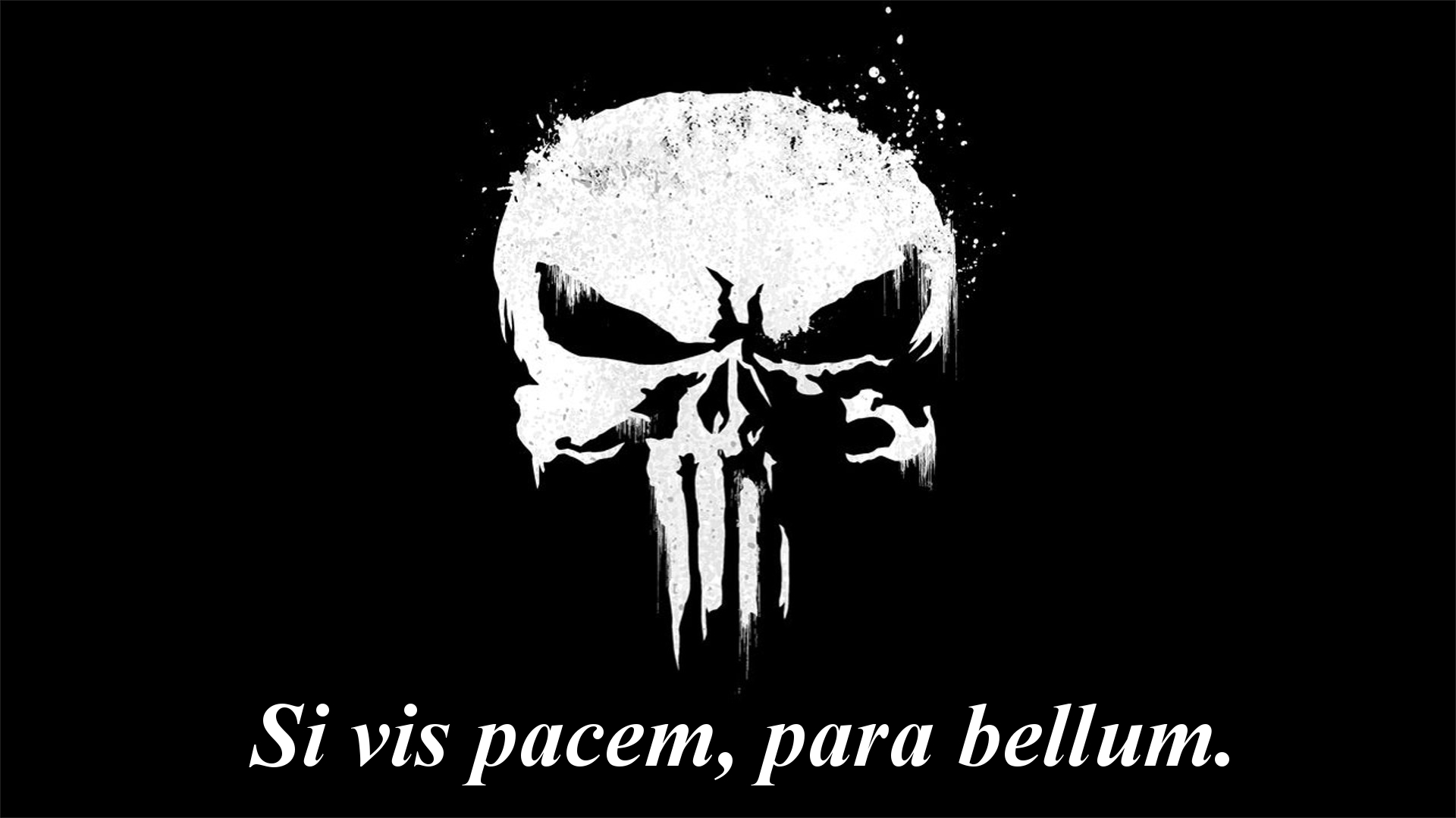 """Si vis pacem, para bellum"" – If you want peace, prepare for war.- Punisher [1920 x 1800 ]"