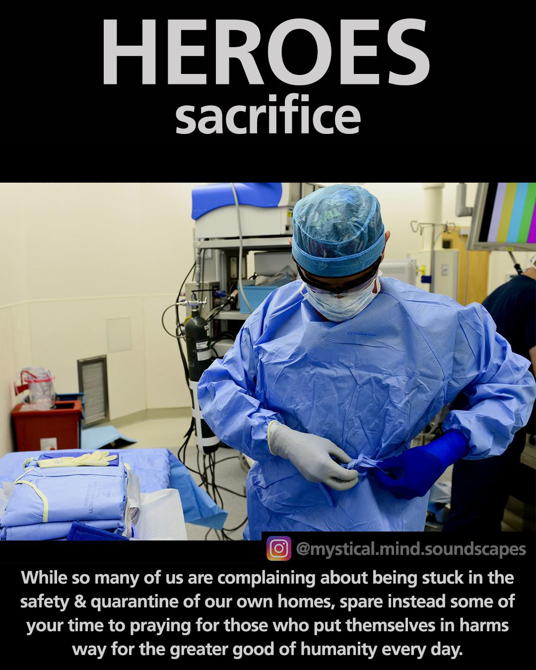 HEROES sacrifice – While so many of us are complaining… [1080×1350]