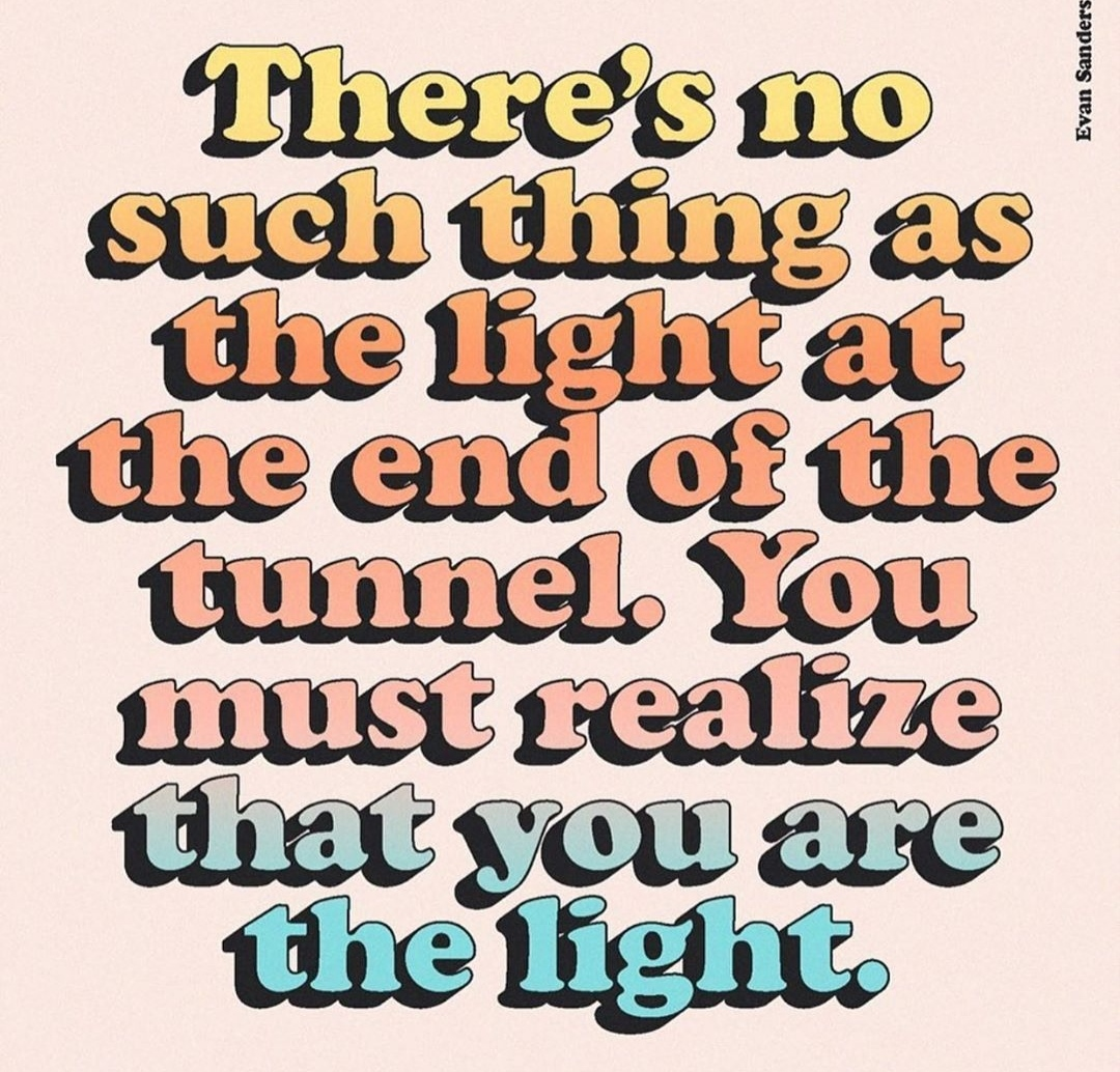 [Image] You are the light.