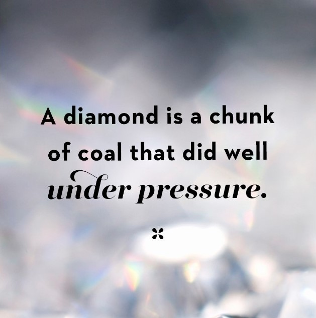 [Image] Learn to handle pressure well and you can do amazing things