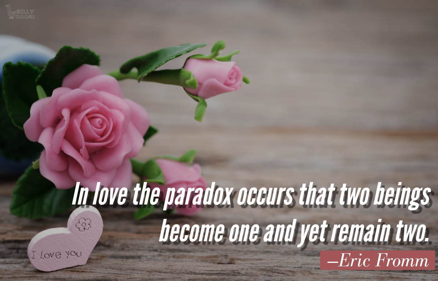 """In love the paradox occurs that two beings become one and yet remain two."" —Eric Fromm [1400×900]"