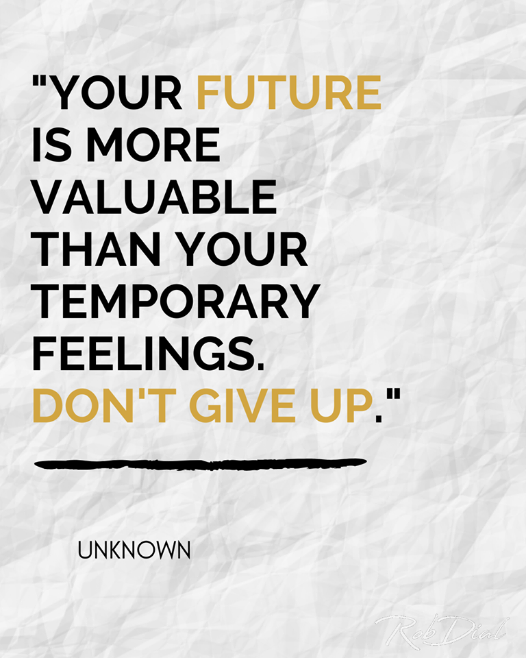 [Image] Your future is more valuable