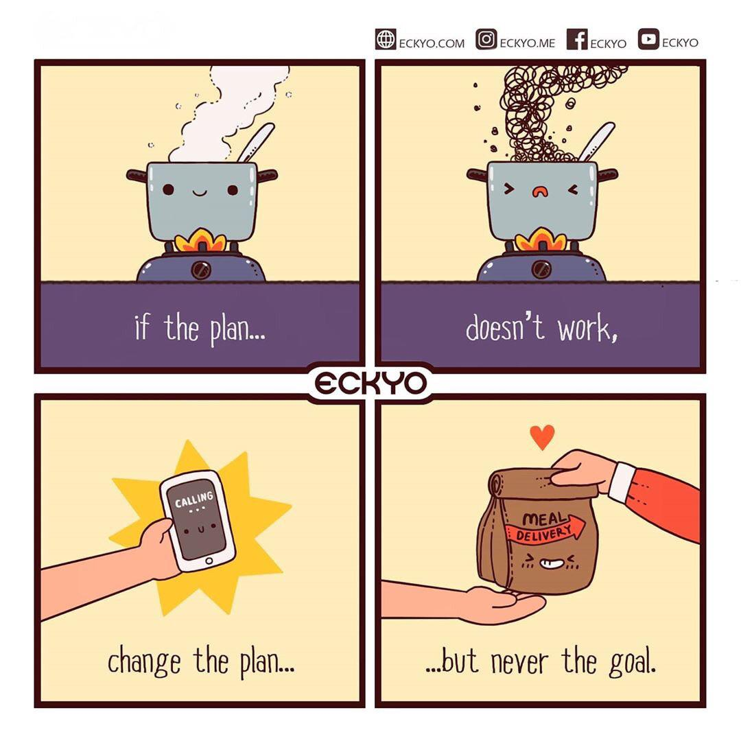 [Image] Change of Plans