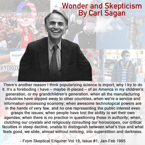 Carl Sagan on Why Science Matters [576×576]