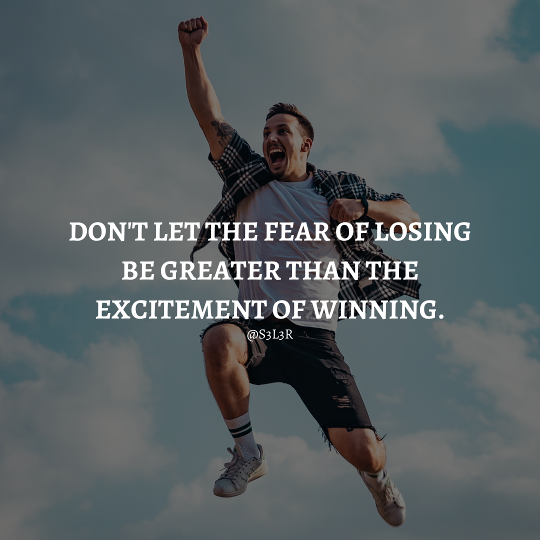 [Image] Everything what you want is on the other side of fear.
