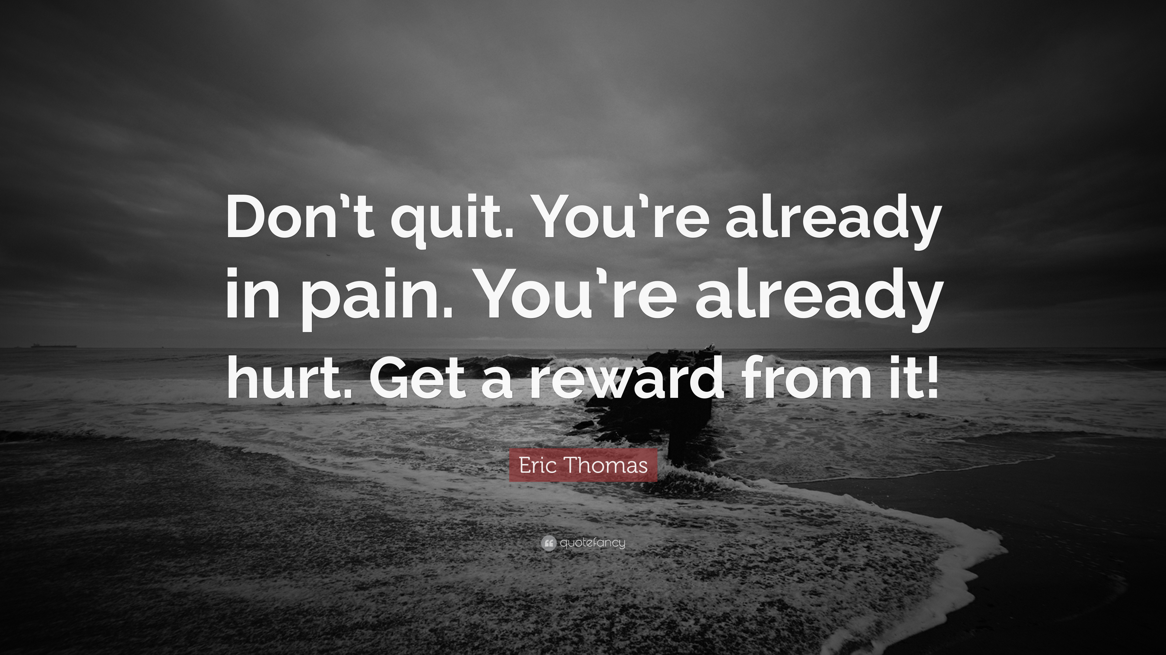 [Image] Keep believing in the dream and keep moving forward, go out and get what you're worth, pain is temporary, and eventually it'll subside and something better will take its place, if you quit however, it'll last forever.