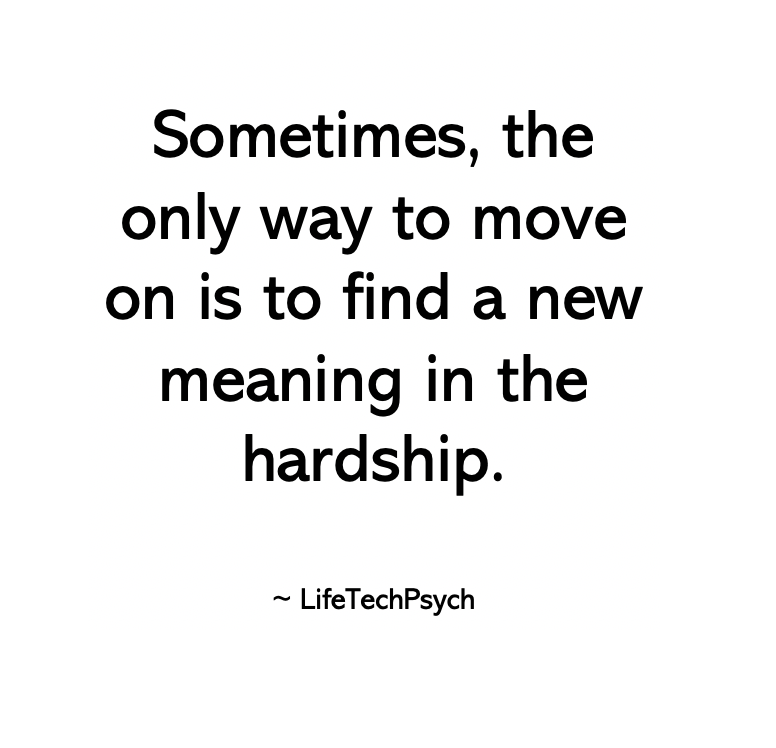 [Image] Sometimes, the only way to move on