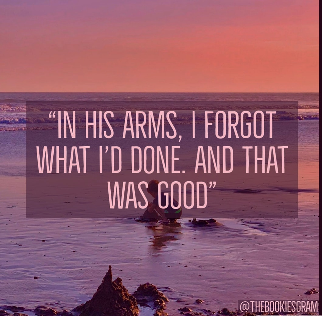 In his Arms, I forgot what I'd done. And that was Good from the kite runner – 1059 x 1037 @TheBookiesgram