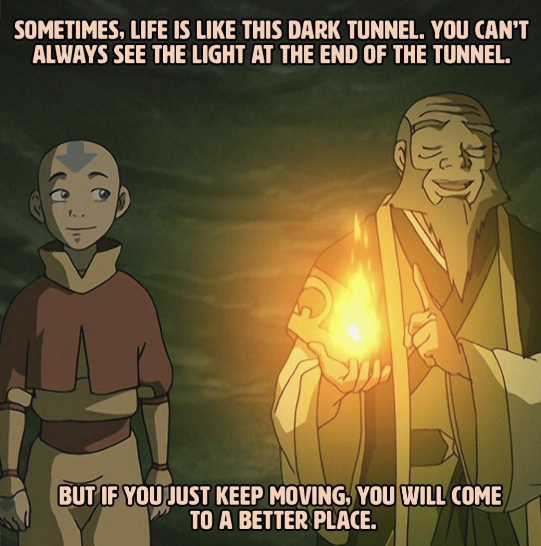 [Image] Trust in Uncle Iroh's Wise Advice: