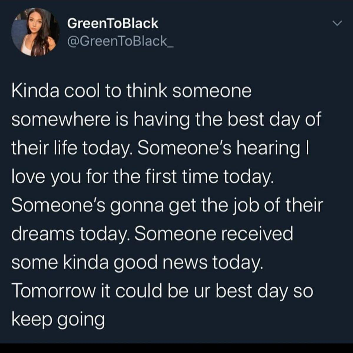 [Image] Your day is gonna come, keep going