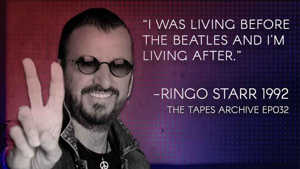 """I was living before the Beatles and I'm living after"" Ringo Starr…Happy 80th birthday!! [960×540]"
