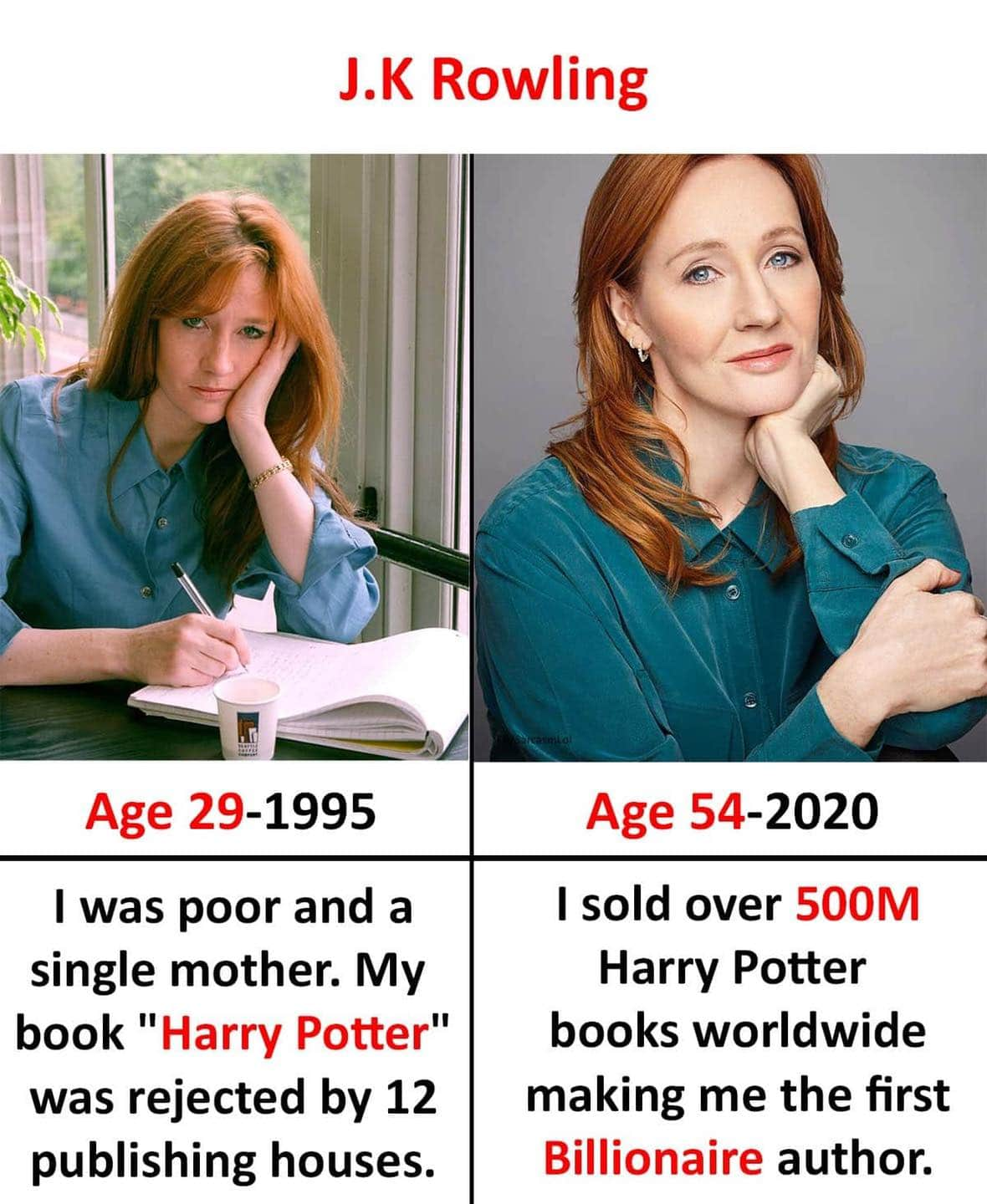 [image] J.K. Rowling's story