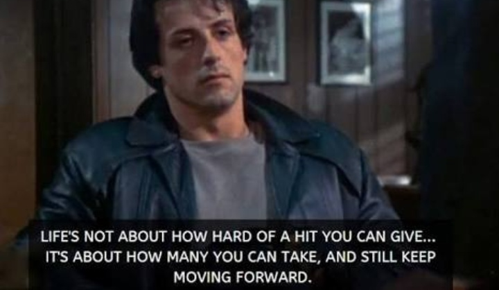 [IMAGE] It's about how hard you can get hit and keep moving forward.