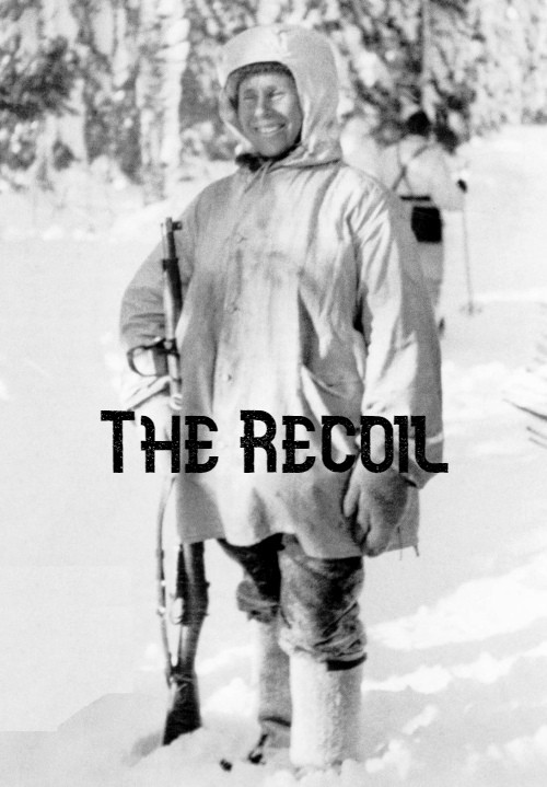 """The Recoil"" – Simo Häyhä, the deadliest sniper in history upon being asked what he felt when he killed his enemies [500 x 719]"
