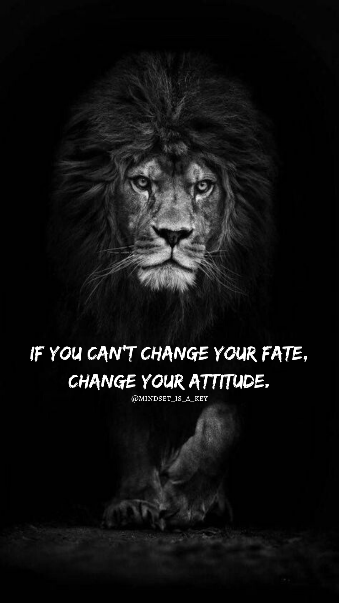 [Image] Attitude is the key